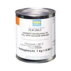 Warnex 0131 WHI - Vernice Strutturata bianca 1 kg