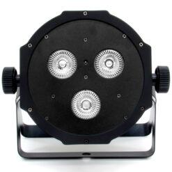 BSL FLATPAR-3 PAR LED CON 3 LED RGBWA+UV DA 12Wia 1 anno