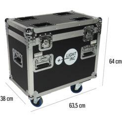 BSL MR-MH-R FLIGHT CASE PER IL TRASPORTO DI 2 TESTEMOBILI MH-R