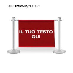 GUIL PST-P/1 COLONNE SEGNAPERCORSO CON INSERTO PUBBLICITARIO DA 1M.