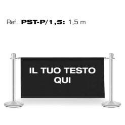 GUIL PST-P/1,5 COLONNE SEGNAPERCORSO CON INSERTO PUBBLICITARIO DA 1.5M.