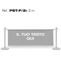 GUIL PST-P/2 COLONNE SEGNAPERCORSO CON INSERTO PUBBLICITARIO DA 2M.