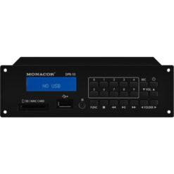 MONACOR DPR-10 REGISTRATORE MP3 COMPATTO