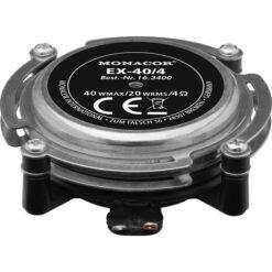 MONACOR EX-40/4 AUDIO-EXCITER/RESONATOR, 20 W, 4 OHM
