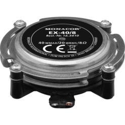 MONACOR EX-40/8 AUDIO-EXCITER/RESONATOR, 20 W, 8 OHM