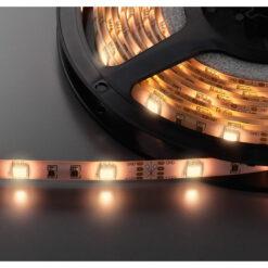 MONACOR LEDS-55MP/WWS STRISCE LED FLESSIBILI, 12 V, 5050 LED,BIANCO CALDO