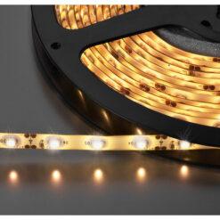 MONACOR LEDS-5MPE/WWS STRISCIA LED FLESSIBILE, 12 V, BIANCO CALDO