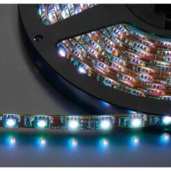 MONACOR LEDS-5MPL/RGB STRISCIA LED FLESSIBILE, 24 V, RGB