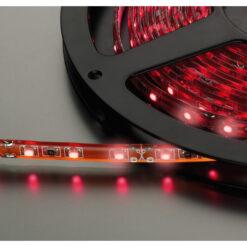 MONACOR LEDS-5MP/RT STRISCE LED FLESSIBILI, 12 V, ROSSO