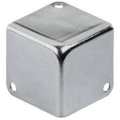MONACOR MZF-8502 ANGOLARE IN METALLO COLOR ARGENTO 41 X 41 X 41 MM