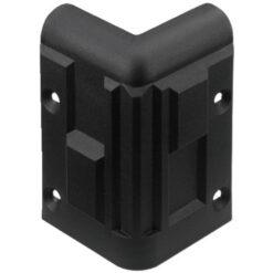 MONACOR MZF-8512 ANGOLO IN PLASTICA PER CASSE ACUSTICHE