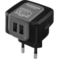 MONACOR PSS-2405USB ALIMENTATORE SWITCHING CON 2 USCITE USB