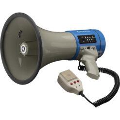 MONACOR TM-17M MEGAFONO CON FUNZIONE MP3, 25W, 110 DB,