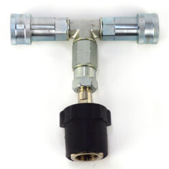 OH-FX A-5 SPLITTER CO2 (1  BOMBOLA - 2  CO2 GUN-JET) ADATTATORE BOMBOLA
