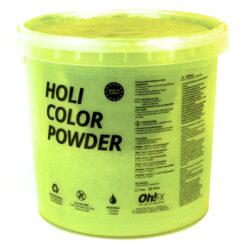 OH-FX HOL5-AM POLVERE PER HOLI PARTY COLORE GIALLO. TOTALMENTE ATOSSICO
