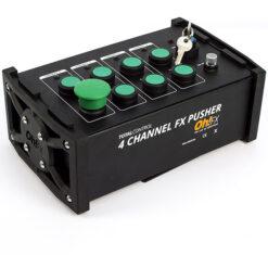 OH-FX TC-102 PULSANTE 4 CANALI PER EFFETTI SPETTACOLO. DOPPIA FUNZIONE : FIRE/FLASH