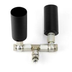 OH-FX TWJET-ACCES ATTACCO A 2 TUBI PER CONVERTIRE IL JET CO2 SINGOLO