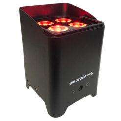ZZIPP ZZLUX410BAT PAR A BATTERIA COMPATTO CON 4 LED RGBW DA 10W