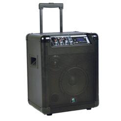 ZZIPP ZZMPA8 SISTEMA AMPLIFICATO TRASPORTABILE CON LETTORE MP3 A BATTERIA