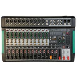 ZZIPP ZZMX12RBT MIXER 12 CANALI CON LETTORE MP3 E BLUETHOOT E FUNZIONE REGISTRAZIONE