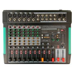 ZZIPP ZZMX8RBT MIXER 8 CANALI CON LETTORE MP3 BLUETHOOT E BLUETHOOT