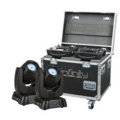 iB-5R set 2 pezzi con flightcase Premium
