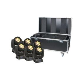 iW-720 set 6 pezzi con flightcase Premium