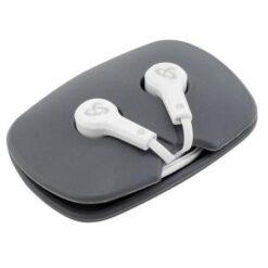 Auricolari Audio Stereo 3.5'' In-Ear con Microfono e Telecomando Bianco