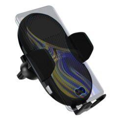 Caricabatterie Qi Wireless per auto con regolazione automatica