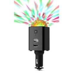 Caricatore da Auto USB-C™ con Luce Disco TX-159