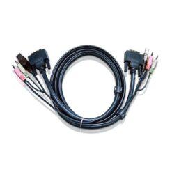 Cavo KVM USB DVI-D Dual Link – 1,8 m