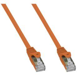 Cavo di Rete Patch in Rame Cat. 6A SFTP LSZH 0,25 m Arancione