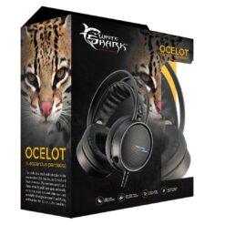 Cuffie Gaming con Microfono Nero, GH-2042 OCELOT