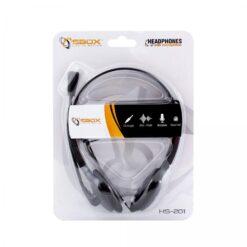 Cuffie Stereo con Microfono e Regolazione del Volume