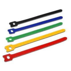 Fascette Fermacavo Multicolor in Velcro Set da 10pz