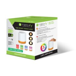 Lampada USB Smart Touch 5 Colori Selezionabili Regolazione Intensità