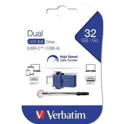 Memoria USB 3.0 Dual Drive USB-C™ USB-A 32GB