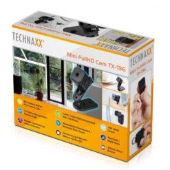 Mini Camera FullHD con Sensore CMOS 1MP, TX-136
