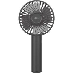 Mini Ventilatore Manuale USB con Funzione di Supporto Nero