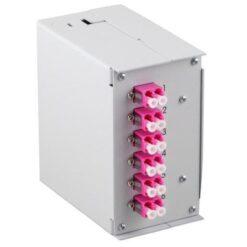 Pannello Frontale 6 Connessioni SC-Simplex per Box Ottico