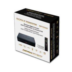 Ricevitore Digitale Terrestre DVB-T2 H265/HEVC con Funzione PVR USB
