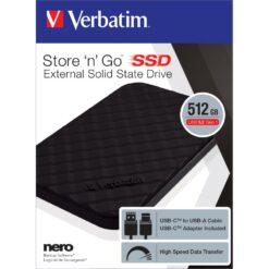 SSD portatile Store'n'Go USB 3.2 GEN1 512GB