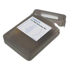 Scatola di Protezione per 1 HDD 3,5'' Nero Trasparente