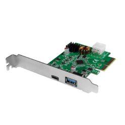 Scheda PCI Express USB 3.2 Gen2x1, 1x USB-C™ PD 3.0 e 1x USB 3.0