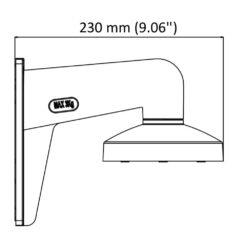 Staffa di Montaggio a Parete per Telecamera Dome, DS-1273ZJ-135