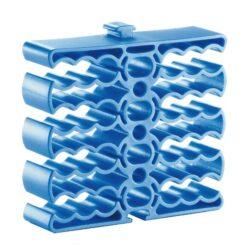 Clip Fermacavo 24 Cavi Blu