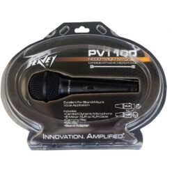 PEAVEY PV®I 100 MICROPHONE - XLR W/ CLAM SHELL