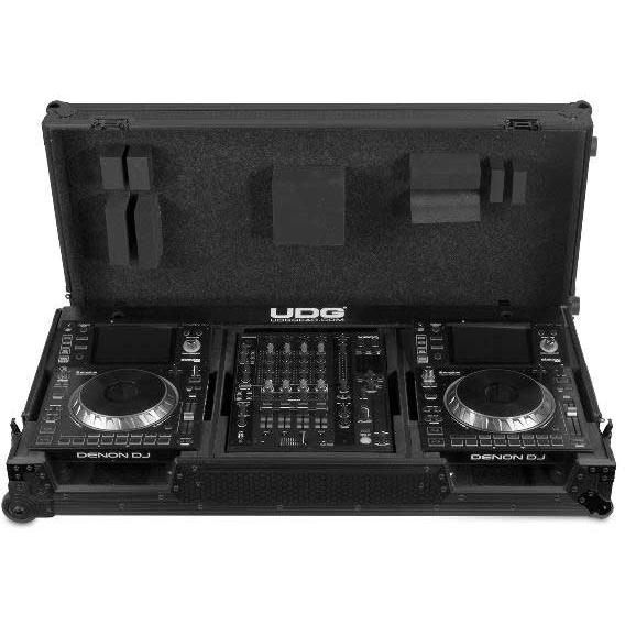 UDG U91046BL - FC SET DENON DJ SC5000/ X1800 BLACK PLUS (WHEELS)