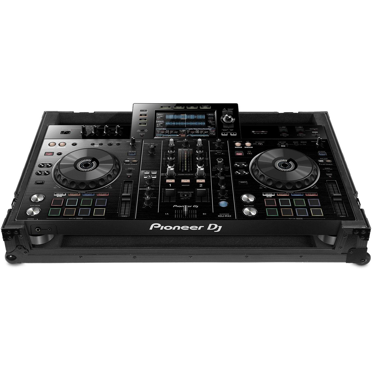 UDG U91051BL2 - UDG ULTIMATE FLIGHT CASE PIONEER XDJ-RX2 BLACK MK2 PLUS (WHEELS)
