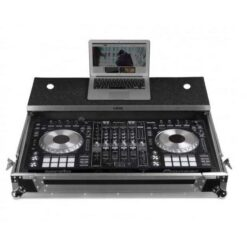 UDG U92010SL - FC PIONEER DDJ-RZ/SZ2 SILVER PLUS (LAPTOP SHELF + WHEELS)